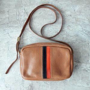 Clare V Perforated Leather Mini Sac